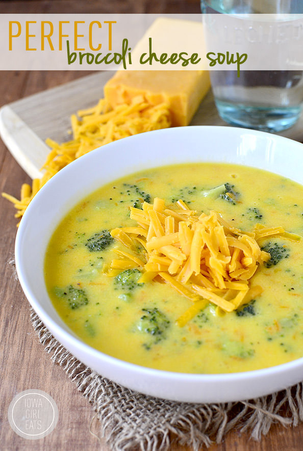 Perfect broccoli cheese soup iowa girl eats - Does olive garden have gluten free pasta ...