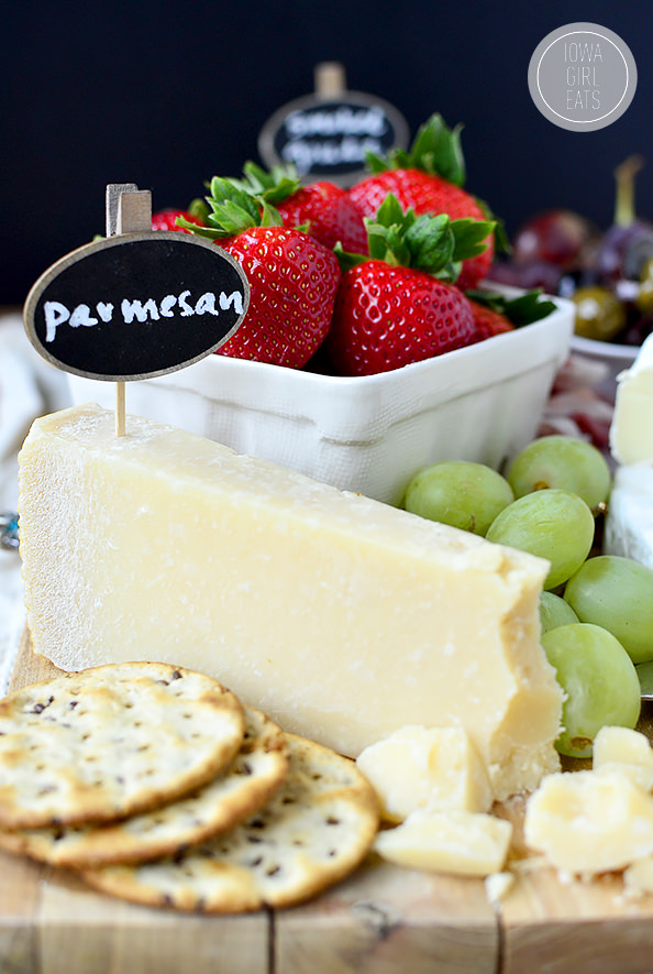 how to prepare a cheese platter